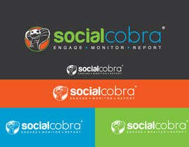 #87 for Design a Logo for Social Cobra by GeorgeOrf