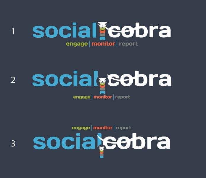 Contest Entry #85 for Design a Logo for Social Cobra