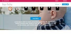 Nro 9 kilpailuun Design a Website Mockup- website name: www.ha-bibs.com.au käyttäjältä lola2021