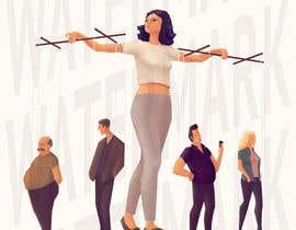 Nro 8 kilpailuun Create Puppeteer and Human Puppets illustration for website käyttäjältä fb577a08df6606b