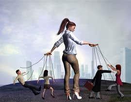 Nro 3 kilpailuun Create Puppeteer and Human Puppets illustration for website käyttäjältä Joshart