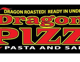 nº 28 pour Develop a new logo for Dragon's Pizza par tjayart