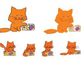 nº 3 pour Illustrate 2D Cat/Kitten for our Chinese Shopping Site's Video Animation par ValeriePK