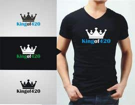 #51 para Design the best logo for Kingof420 por shashank2917
