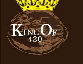 #34 para Design the best logo for Kingof420 por sicreations