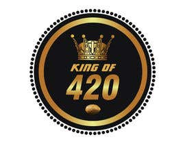 #18 para Design the best logo for Kingof420 por elnestbantolo