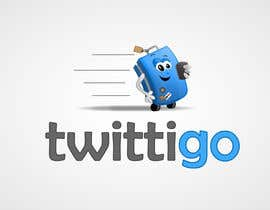 #76 cho Logo Design for twittigo, a touristical and guide service bởi Clacels