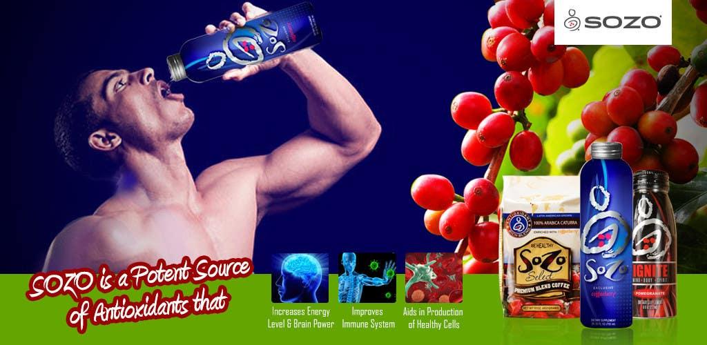 #35 for Create a website header for HealthyGiftIdea.com (healthy drink) by isrijanbamrel
