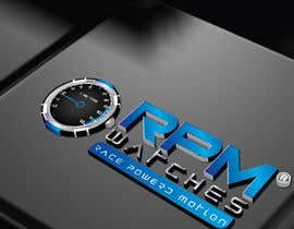 nº 117 pour Design a Logo for RPM watches par dannnnny85