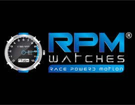 nº 119 pour Design a Logo for RPM watches par dannnnny85