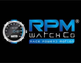 nº 137 pour Design a Logo for RPM watches par dannnnny85