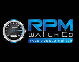nº 161 pour Design a Logo for RPM watches par dannnnny85