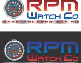 nº 160 pour Design a Logo for RPM watches par abhig84