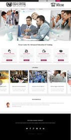 #6 para Design a Website Mockup for startup continuing education por zicmedia
