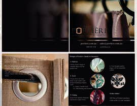#31 for Design a Brochure for curtain and fabric company af pinkmast3ritza