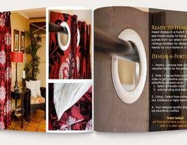#5 para Design a Brochure for curtain and fabric company por mbewlive