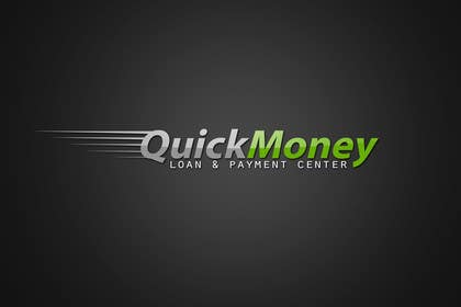 Graphic Design Contest Entry #112 for Design a logo for QuickMoney Loan and Payment Center