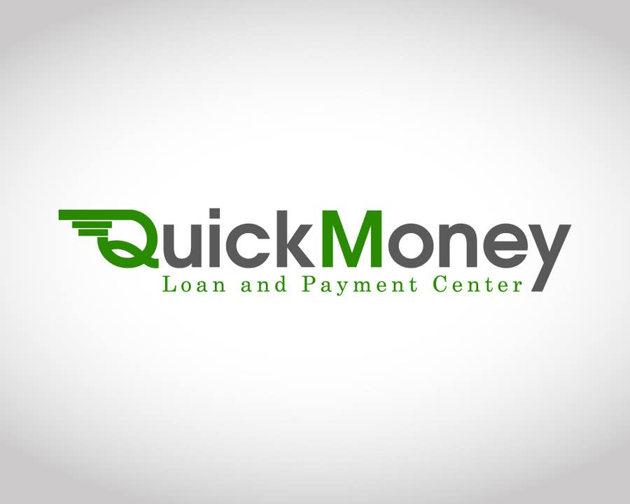 #65 for Design a logo for QuickMoney Loan and Payment Center by allenmalumay