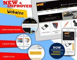 Nro 3 kilpailuun Design an eyecatching design to launch our new website käyttäjältä rajeev2005