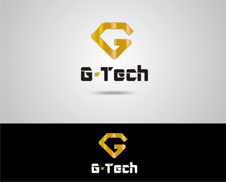 Penyertaan Peraduan #                                        56                                      untuk                                         Logo Design for Gold technology company(G-TECH)