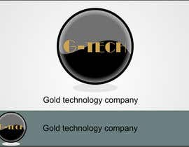 #77 cho Logo Design for Gold technology company(G-TECH) bởi vladimiruze