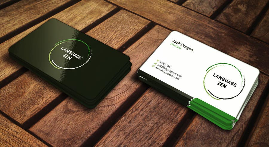 #39 for Design some Business Cards by ezesol