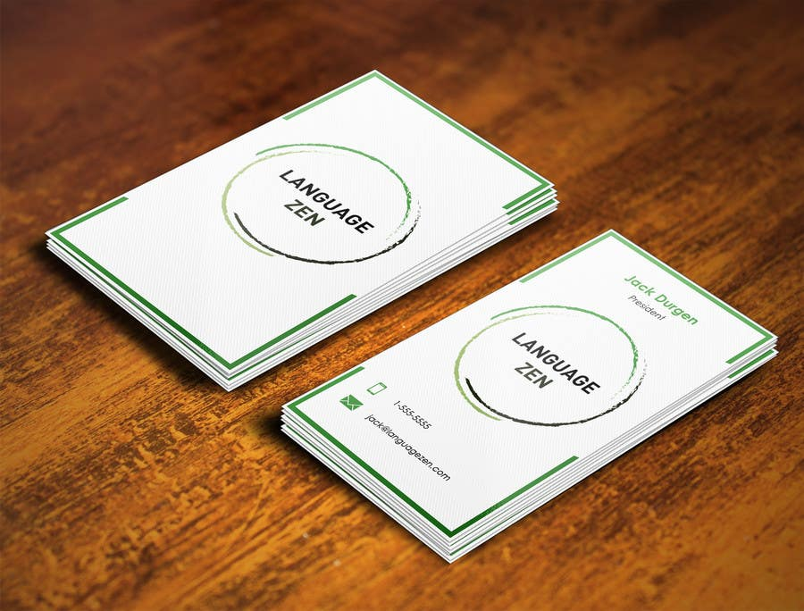 #29 for Design some Business Cards by pointlesspixels