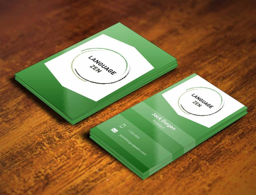 #72 for Design some Business Cards by pointlesspixels