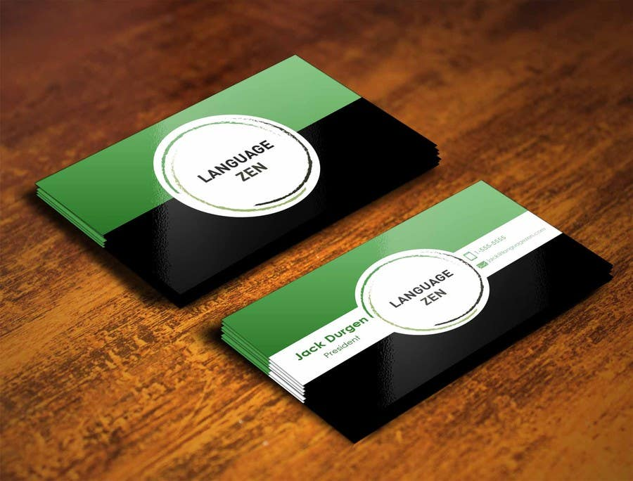 #73 for Design some Business Cards by pointlesspixels