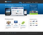 Graphic Design Entri Peraduan #3 for Website Design for ininbox.com