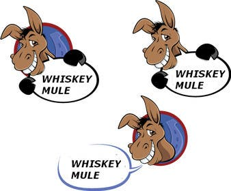 nº 34 pour Design a Logo for Whiskey Mule par cristinandrei