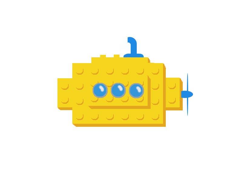 Inscrição nº 19 do Concurso para Lego Submarine Graphic Design 2D