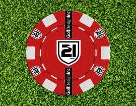#14 for 21 Golf/Design - Design a poker chip golf ball marker by attilarts