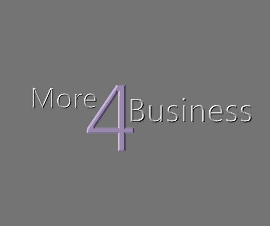 #3 for Design a Logo for More 4 Business by drawbacktrane
