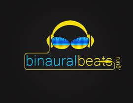 nº 53 pour Design a Logo for My Binaural Beats Website. par chakradev
