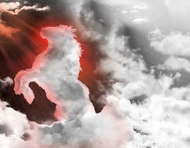 #43 untuk Picture of clouds in the shape of a horse oleh seguro