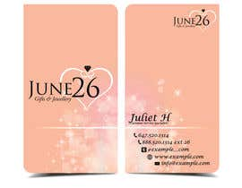 #14 untuk Gifts & Jewellery Couple Store 2 Business Card Design oleh TheDesignA