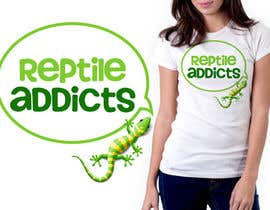 #21 untuk Design a T-Shirt for Reptile Addicts oleh nitabe