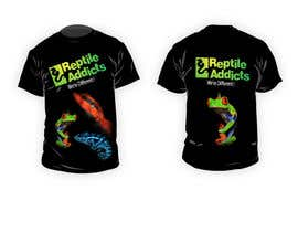 #9 para Design a T-Shirt for Reptile Addicts por ZATIHANIF