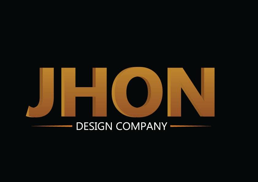 Bài tham dự cuộc thi #74 cho Design a Logo for jhon