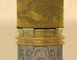 Nro 38 kilpailuun Create a 3D Model of a Column for a Restaurant Design käyttäjältä bguerrero