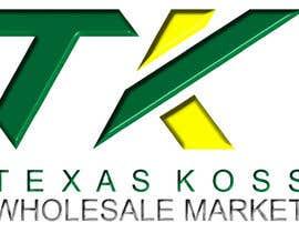 duncanmomanyi tarafından Texas Koss Wholesale Market Logo için no 12