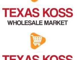 amitaakash tarafından Texas Koss Wholesale Market Logo için no 1