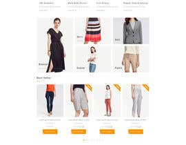 Nro 1 kilpailuun Create a mockup design for a shopify store käyttäjältä IntelligentAppSl