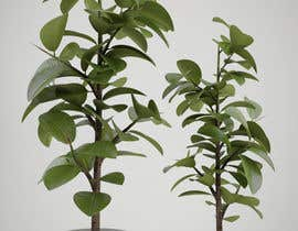 Nro 16 kilpailuun Create two 3d Planters!!! käyttäjältä deletehome