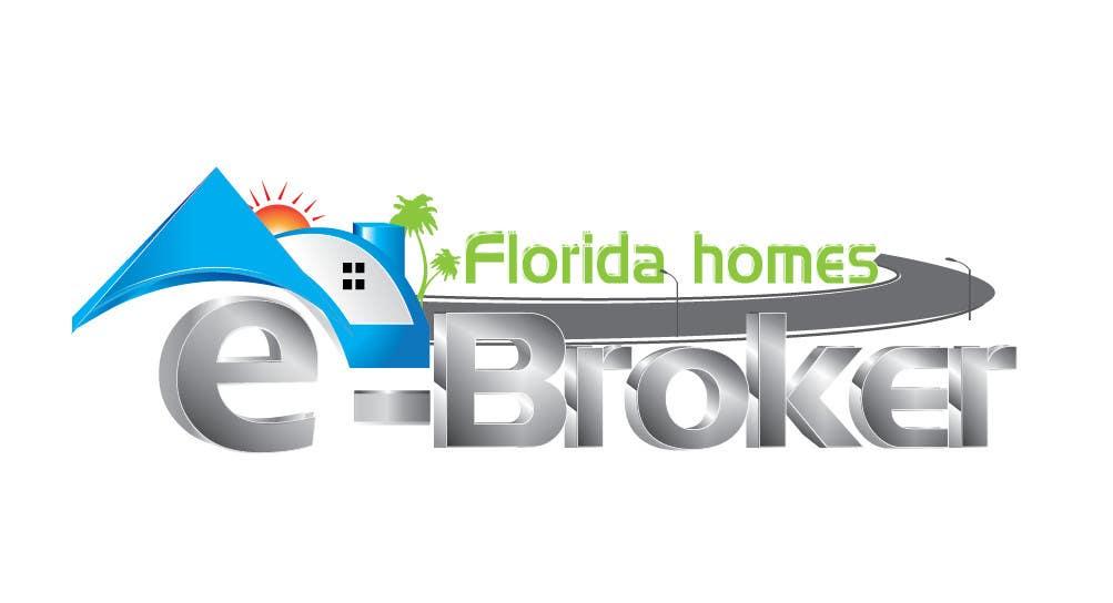 Penyertaan Peraduan #314 untuk Logo Design for e-Broker
