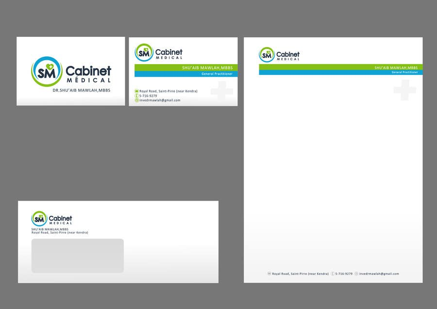 #57 for Corporate Identity/ Branding for Medical Practice/ Doctor by catalinorzan
