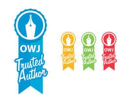 #13 para Design a Trusted Writer Badge por MrHankey