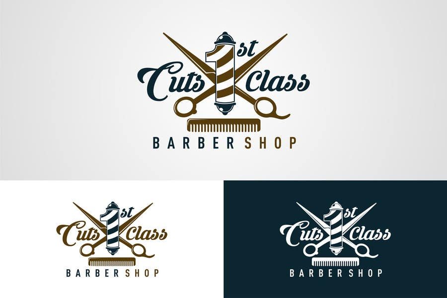 Entry 26 By Mmpi For Urban Upscale Barbershop Logo Freelancer