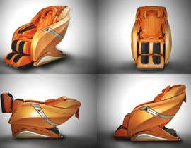 Nro 26 kilpailuun 3D Rendering of Massage Chair Model S5 käyttäjältä VfxRokib